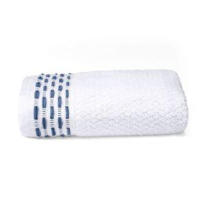 toalha-de-rosto-50x80cm-em-algodao-460gr-bouton-oxford-cor-branco-com-barra-marinho-principal