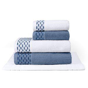 jogo-de-toalhas-5-pecas-em-algodao-460gr-bouton-oxford-cor-branco-e-chumbo-com-barra-marinho-principal