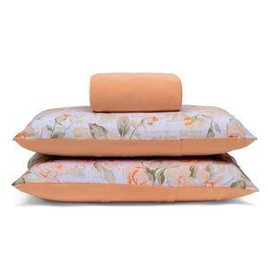 jogo-de-lencol-king-size-em-algodao-com-fronha-estampada-buettner-basic-raira-laranja-principal