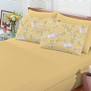 jogo-de-lencol-casal-em-algodao-com-fronha-estampada-buettner-basic-leonor-amarelo-vitrine