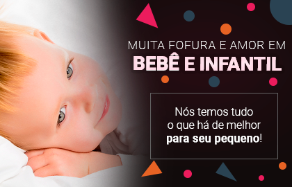 Muita fofura e amor em BEBÊ E INFANTIL! Nós temos tudo o que há de melhor para seu pequeno! >> Loja Buettner   Confira!