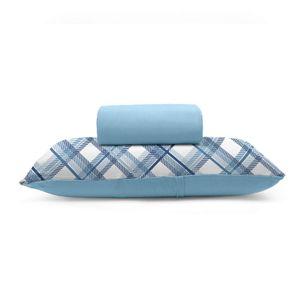 jogo-de-lencol-solteiro-em-algodao-com-fronha-estampada-buettner-basic-charles-azul-principal