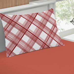 jogo-de-lencol-solteiro-em-algodao-com-fronha-estampada-buettner-basic-charles-vermelho-detalhe
