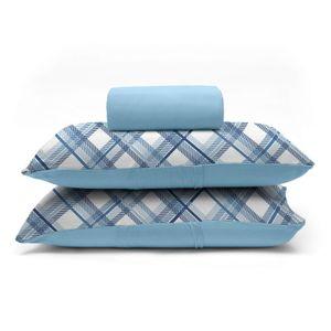 jogo-de-lencol-casal-em-algodao-com-fronha-estampada-buettner-basic-charles-azul-principal