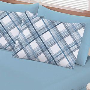 jogo-de-lencol-casal-em-algodao-com-fronha-estampada-buettner-basic-charles-azul-detalhe