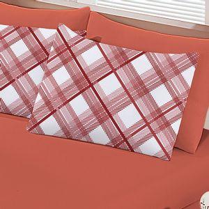 jogo-de-lencol-casal-em-algodao-com-fronha-estampada-buettner-basic-charles-vermelho-detalhe