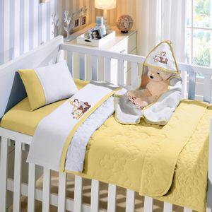 jogo-de-berco-3-pecas-em-malha-em-algodao-bordada-buettner-baby-amigos-amarelo-mel-vitrine