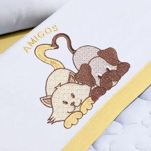 jogo-de-berco-3-pecas-em-malha-em-algodao-bordada-buettner-baby-amigos-amarelo-mel-detalhe