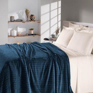 manta-de-microfibra-solteiro-160x220cm-com-280gr-buettner-flannel-jacquard-blocos-cor-azul-principal