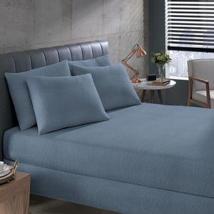 lencol-avulso-com-elastico-solteiro-padrao-malha-penteada-em-algodao-buettner-basic-mescla-cor-azul-vitrine