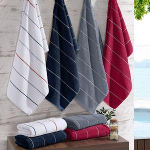 toalha-de-rosto-em-algodao-50x70cm-bouton-capri-winter-cor-chilli-com-listras-prata-vitrine