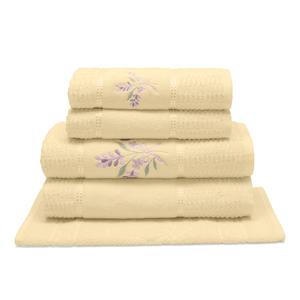 jogo-de-toalhas-5-pecas-em-algodao-460-gramas-com-bordado-buettner-priscila-cor-baunilha-principal