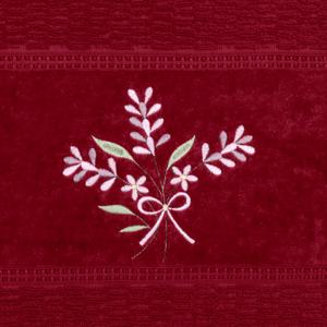 toalha-de-rosto-50x80cm-em-algodao-460-gramas-com-bordado-buettner-priscila-cor-chilli-detalhe