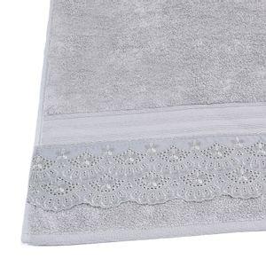 jogo-de-toalhas-com-renda-5-pecas-em-algodao-egipcio-500-gramas-buettner-cadence-cor-cinza-detalhe