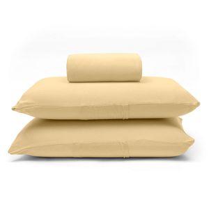 lencol-com-elastico-e-fronhas-casal-queen-size-avulso-malha-penteada-algodao-buettner-basic-cor-amarelo-principal