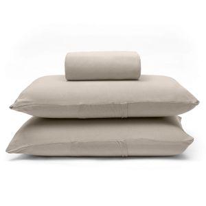 lencol-com-elastico-e-fronhas-casal-king-size-avulso-malha-penteada-algodao-buettner-basic-cor-trigo-principal