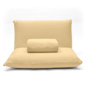 lencol-com-elastico-e-fronhas-casal-avulso-malha-penteada-algodao-buettner-basic-cor-amarelo-detalhe