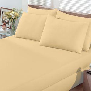 lencol-com-elastico-e-fronhas-casal-avulso-malha-penteada-algodao-buettner-basic-cor-amarelo-vitrine
