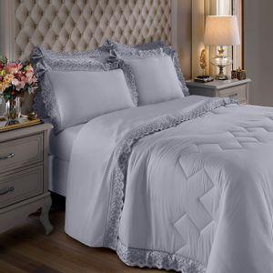 jogo-de-cama-com-renda-4-pecas-king-size-com-dobra-feita-300-fios-buettner-sahar-cor-cinza-vitrine
