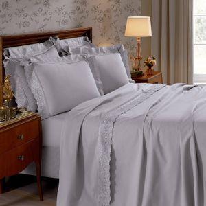 jogo-de-cama-4-pecas-casal-180-fios-com-renda-e-dobra-feita-buettner-daisy-cor-cinza-vitrine