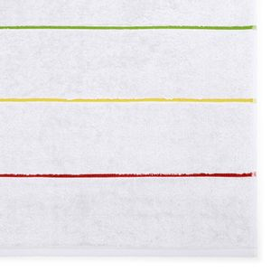 toalha-de-rosto-em-algodao-50x70cm-bouton-capri-summer-cor-branco-e-listras-coloridas-detalhe