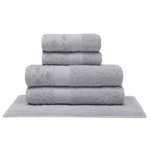 jogo-de-toalhas-5-pecas-em-algodao-500-gramas-por-metro-quadrado-e-aplicacao-de-renda-buettner-paula-cinza-principal